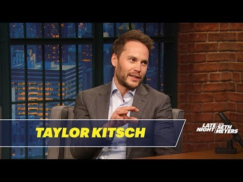 Taylor Kitsch Talks Playing David Koresh in Waco