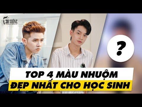 Top 4 Màu Nhuộm Đẹp Nhất Dành Cho Học Sinh - Phong Cách Sơn Tùng MTP - 30Shine TV Trendy