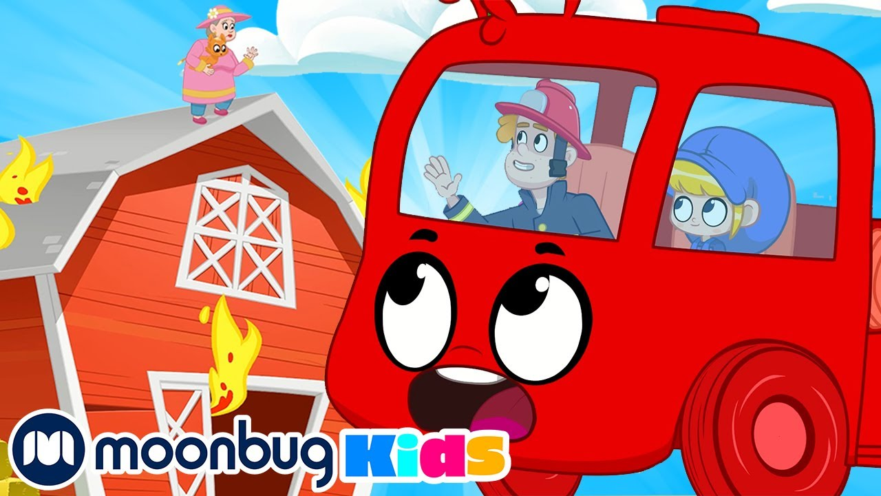 My Magic Pet Morphle - Morphle the Firefighter! | Full Episodes | Funny Cartoons for Kids