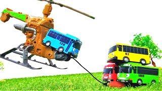 Автобус Тайо и игрушечный вертолет — Незабываемые приключения игрушек