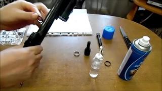 Заміна гумок на резервуарі гвинтівки ВЛ -12