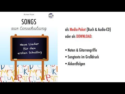 Songs zur Einschulung. Neue Lieder für den ersten Schultag.