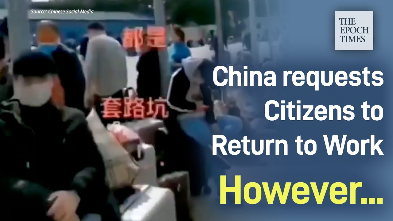China Requests Citizens to Return to Work, However Things Didn't Go as The Citizens Expected