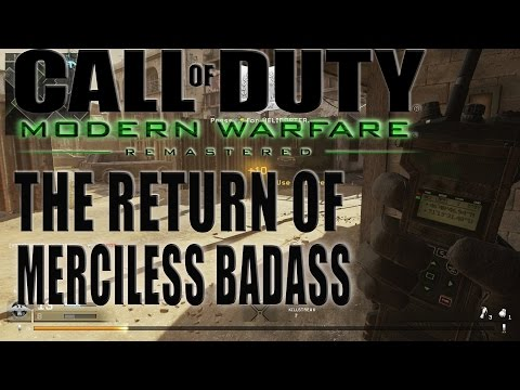 THE RETURN OF MERCILESS BADASS! MODERN WARFARE REMASTERED FREE FOR ALL #REALNIGGASHIT
