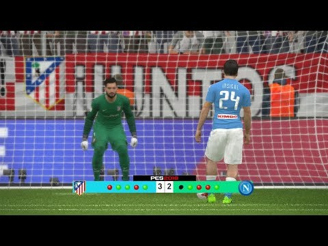 Atletico Madrid vs Napoli - Audi Cup 2017 Penalty Shootout