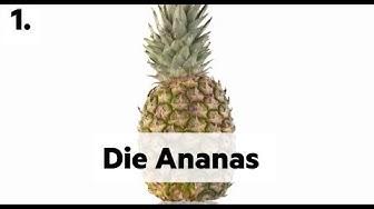 Plural-Quiz: Wie heißt die Mehrzahl von Ananas?