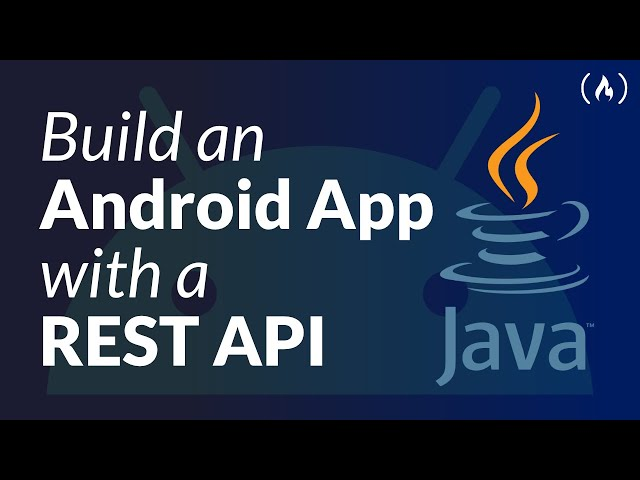 Java Android App using REST API - Network Data in Android Course