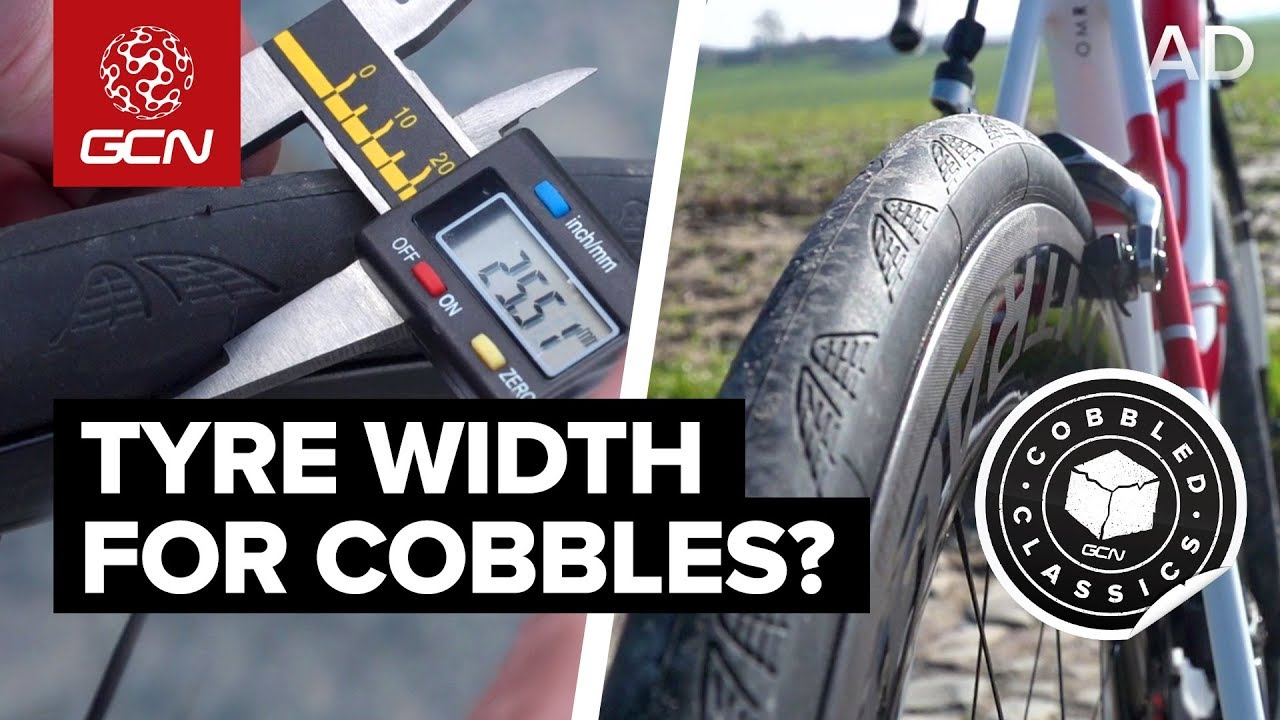 What Is The Fastest Tyre Width For Cycling On Cobbles Youtube
