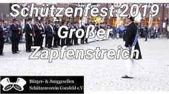 #2 Bürger- & Junggesellen Schützenverein Coesfeld Schützenfest 2019 Großer Zapfenstreich
