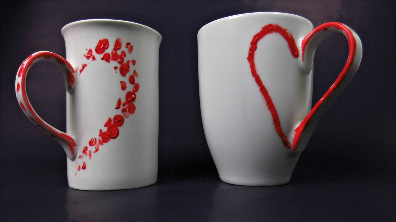 last minute diy geschenk valentinstag deko idee kaffeetasse youtube. Black Bedroom Furniture Sets. Home Design Ideas