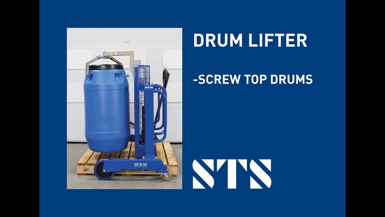Drum Lifter for Screw Top Drums (Model: DTP04-DPA09)