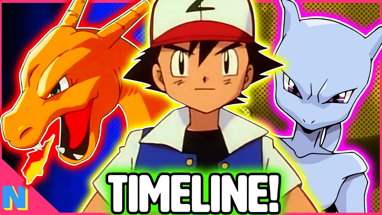Download The Complete Pokemon Anime Timeline!   Part 1: The Original Series (Kanto, Orange Isles, & Johto)
