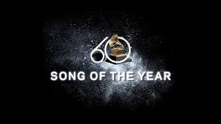 Song Of The Year Nominees | 2018 GRAMMYs