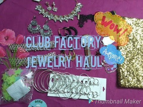 Club Factory Jewelry Haul Honest Review