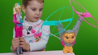 Новая Барби и летающий кот Barbie Star light Adventure