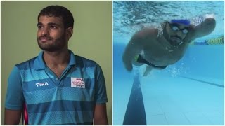 Suyash Jadhav | India's lone representative for swimming at the Rio Paralympic Games