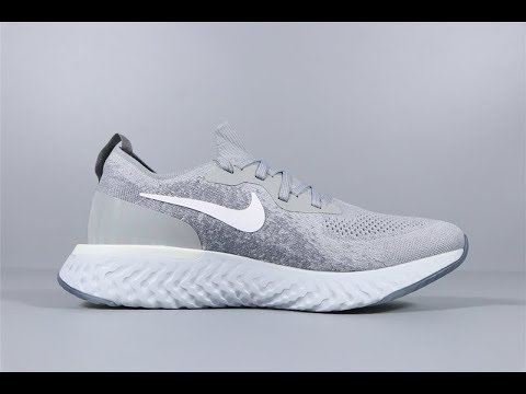 Nike Epic React Flyknit Men's Women's Running Shoes AQ0070-002 FROM Robert