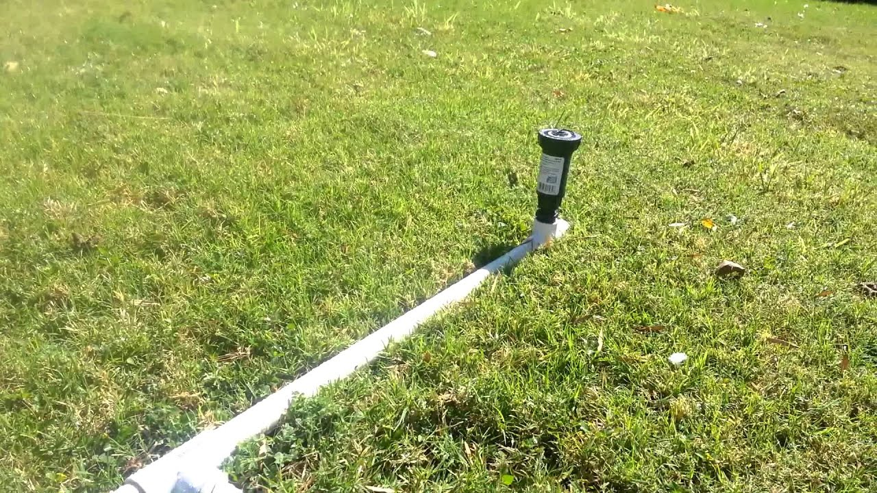 Pvc Lawn Sprinkler You