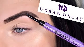 NEW Urban Decay Brow Products - Brow Blade, Double Down Brow | Review + Tutorial