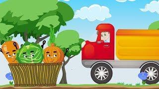Детская песня про овощи и огород