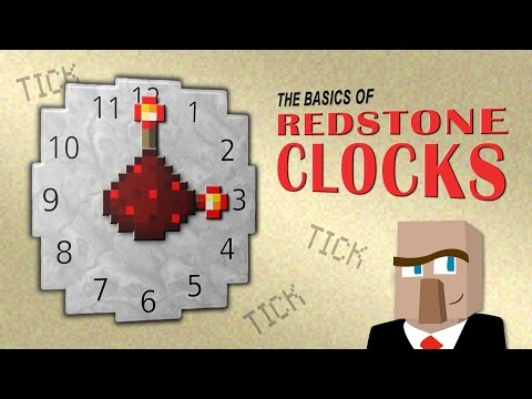 DISCOVER THE BASICS OF REDSTONE CLOCKS: Plus 10 Examples You Can Build!