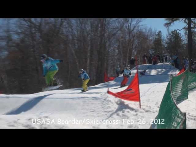 USASA Boarder/Skiercross at Ski Ward - Feb. 26, 2012