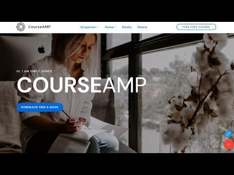 CourseAMP | HTML Courses Template - Mobirise