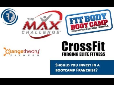 BEST Fitness Bootcamp Franchise ( Fit Body Bootcamp, Orange Theory, Max Challenge, Crossfit)