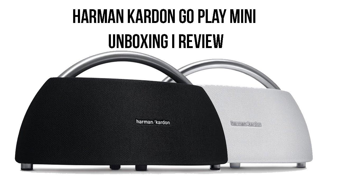 JBL Harman Kardon Go Play Mini - Unboxing i Review
