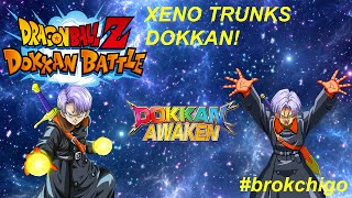 Dokkan Awakening XENO Trunks! Dragonball Z Dokkan battle! Nichigo VS Xeno Trunks