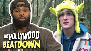 Tyron Woodley Reacts To Logan Paul's Suicide/Hanging Vlog | The Hollywood Beatdown