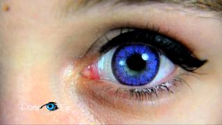 Fioletowe soczewki kolorowe PartyEye BT VIOLET / Color Contact Lenses