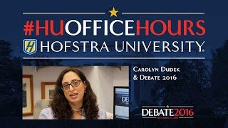 Latin America and Election 2016: HU Office Hours with Carolyn Dudek (English)