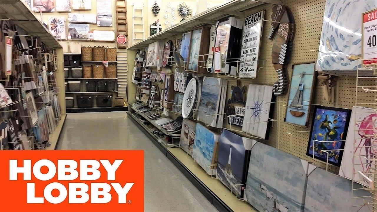 Hobby Lobby Wall Decor Wall Art Home Decor Shop With Me Shopping Store Walk Through 4k Youtube