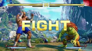 STREET FIGHTER V Sagat vs Blanka