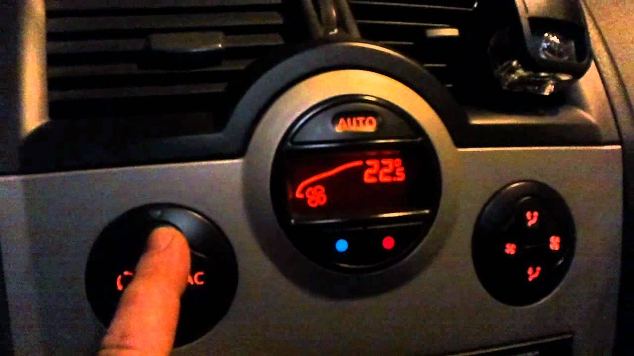 Fallo Ventilador De Habitaculo Renault Megane Ii