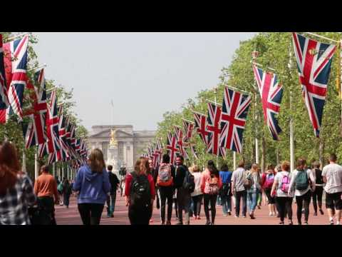 The Road to Buckingham Palace (The Mall)
