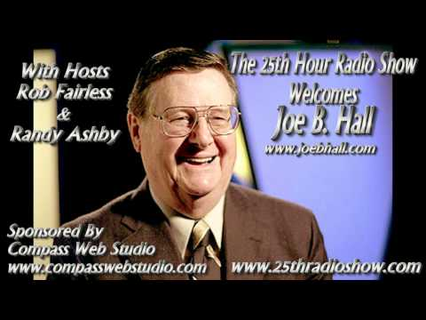 "Joe B Hall - Former Basketball Coach Of The University Of Kentucky - ""The 25th Hour Radio Show"""