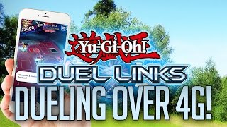 yu gi oh duel links closed beta   dueling over 4g data gone wrong
