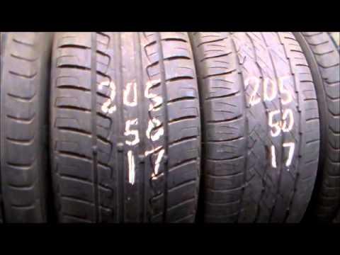 205/50/17 used tires, Bridgestone, Michelin, Pirelli, Toyo, Hankook, Firestone