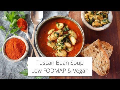 Tuscan Bean Soup Recipe! �� Low FODMAP & Vegan