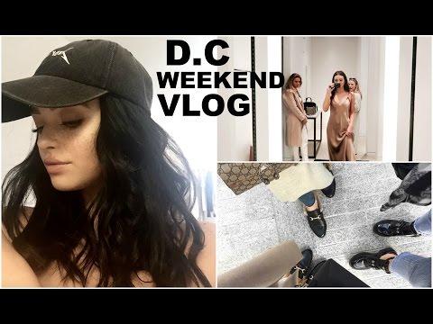 D.C weekend vlog! |