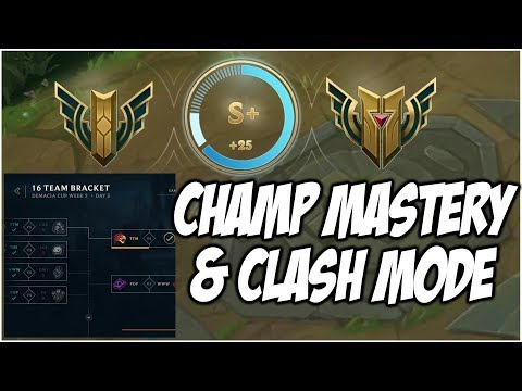 THOUGHTS ON CHAMPION MASTERY AND NEW TOURNAMENT CLASH MODE | League of Legends