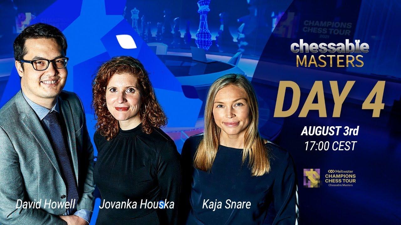 $1.6M MCCT | Chessable Masters | Day 4 | D. Howell, J. Houska & K. Snare