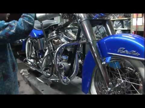 1965 Harley Davidson PanHead - START YOUR ENGINES - Tatro Machine