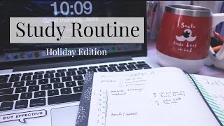 Gambar cover Holiday Study Routine | Everything Janis