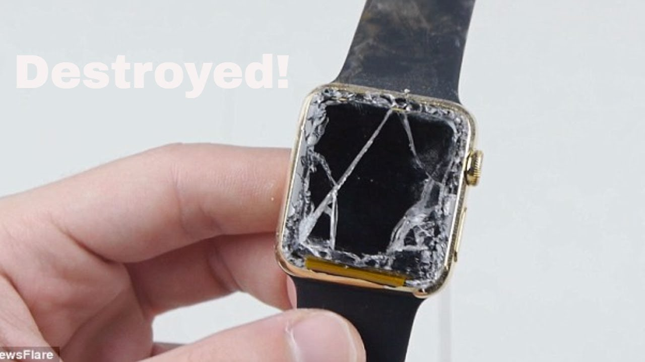 Apple Watch Drop Test Youtube