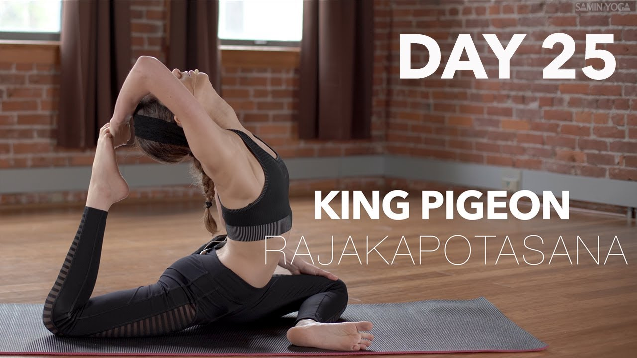 King Pigeon Pose In Yoga