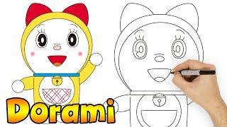 How to Draw Dorami Step by Step