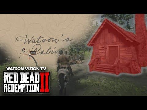 Red Dead Redemption 2 Watsons Blockhutte Karte.How To Find Watson S Cabin Red Dead Redemption 2 Youtube